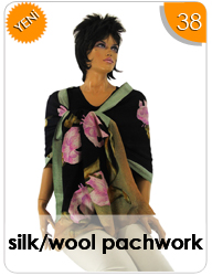 Silk/Wool Patchwork
