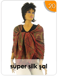Super Silk Şal
